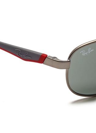 细节 - 点击放大 - RAY-BAN - Curve aviator junior sunglasses
