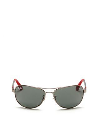 首图 - 点击放大 - RAY-BAN - Curve aviator junior sunglasses
