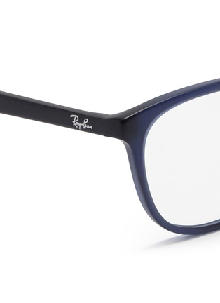 Detail View - Click To Enlarge - Ray-Ban - Matte acetate optical glasses