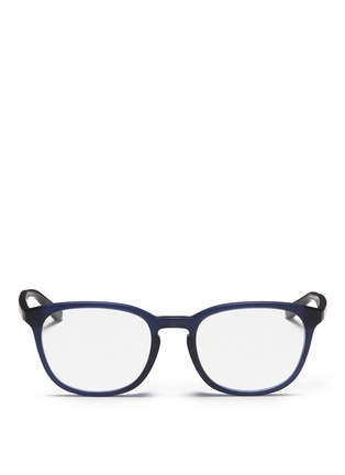 Main View - Click To Enlarge - Ray-Ban - Matte acetate optical glasses