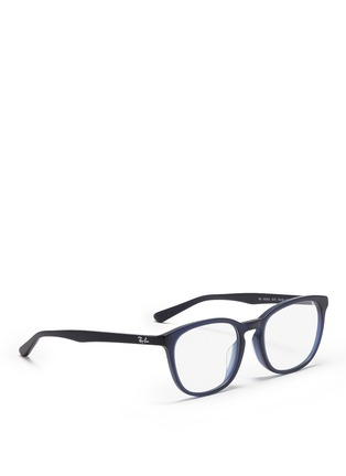 Figure View - Click To Enlarge - Ray-Ban - Matte acetate optical glasses