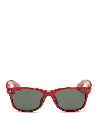Main View - Click To Enlarge - Ray-Ban - 'New Wayfarer' acetate sunglasses