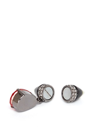 Detail View - Click To Enlarge - Givenchy - Spike magnetic earrings