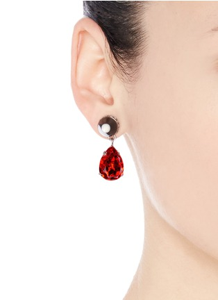 Figure View - Click To Enlarge - Givenchy - Spike magnetic earrings