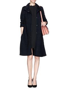 ARMANI COLLEZIONIWool knit long coat