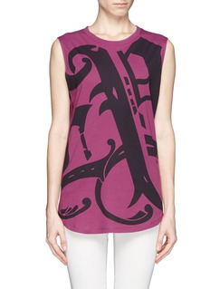 EMILIO PUCCIPrint jersey tank top