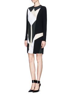 STELLA MCCARTNEYGeometric Tulip print dress