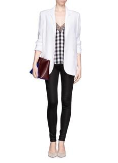 J BRANDSuper skinny waxed jeans