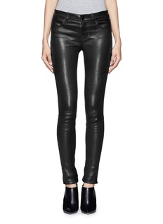 J BRAND Lamb leather skinny pants