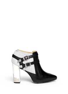 TOGA ARCHIVES Detachable harness cowboy booties