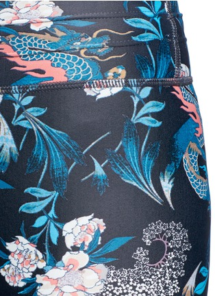 Detail View - Click To Enlarge - The Upside - 'Enter the Dragon' performance leggings