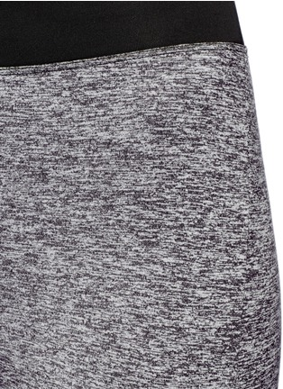 Detail View - Click To Enlarge - KORAL - 'Frame' Powermesh panel performance leggings