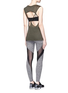 KORAL 'Frame' Powermesh panel performance leggings