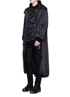 Haculla'One of a Kind' print hoodie