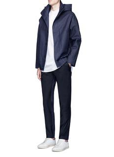FFIXXED STUDIOSWool blend denim panelled pants