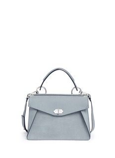 Proenza Schouler 'Hava' medium top handle nubuck leather bag
