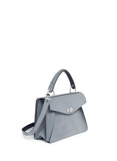 Proenza Schouler'Hava' medium top handle nubuck leather bag