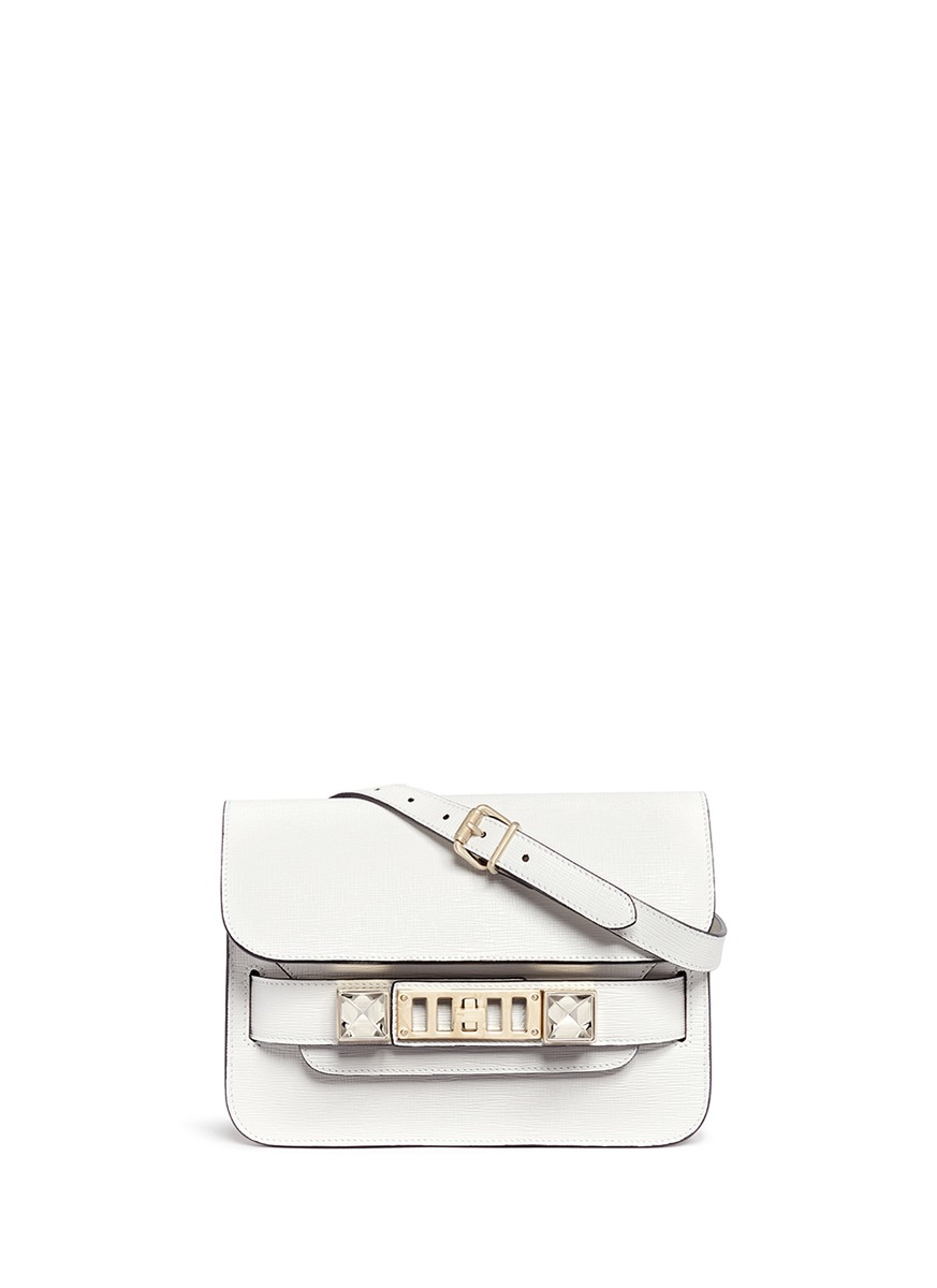 PS11 mini Classic Linosa leather satchel by Proenza Schouler