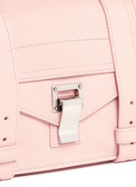 'PS1' mini leather crossbody satchel