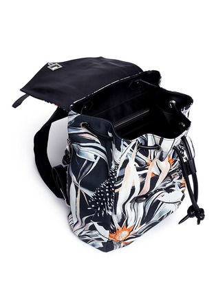Detail View - Click To Enlarge - Proenza Schouler - 'PS1' floral print nylon backpack