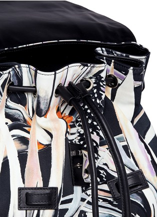 - Proenza Schouler - 'PS1' floral print nylon backpack