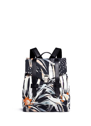 Main View - Click To Enlarge - Proenza Schouler - 'PS1' floral print nylon backpack