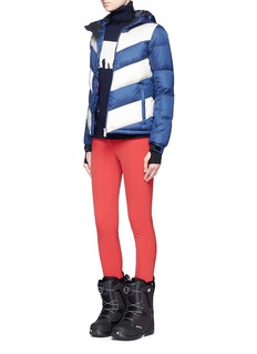Perfect Moment 'Super Day' chevron quilted down ski jacket