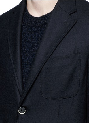 Detail View - Click To Enlarge - Barena - 'Brotto' soft wool blazer