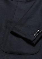 'Brotto' soft wool blazer
