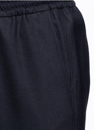 Detail View - Click To Enlarge - Barena - Wool flannel jogging pants