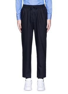 BarenaWool flannel jogging pants