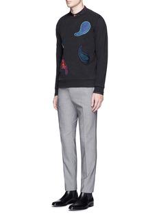 Paul SmithPaisley patch sweatshirt