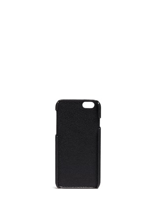 - Valextra - Leather iPhone 6 case