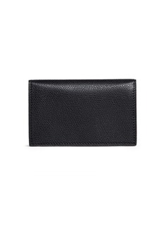 Valextra Leather business card holder