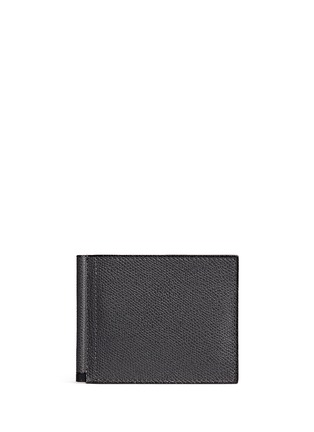 Valextra - 'Simple Grip Spring' leather wallet