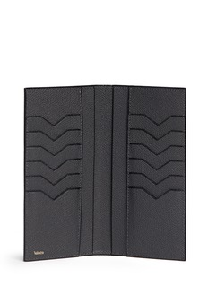ValextraLeather vertical wallet