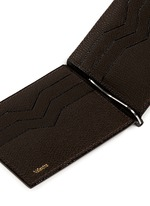 'Simple Grip Spring' leather wallet
