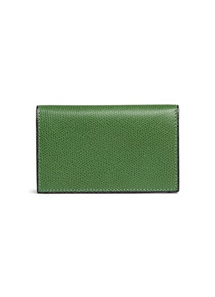 Main View - Click To Enlarge - Valextra - Leather business card holder