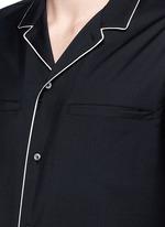 Wool-Mohair pyjama shirt