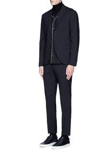 Valentino Wool-Mohair pyjama shirt