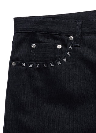 - Valentino - 'Rockstud Untitled 06' denim chinos