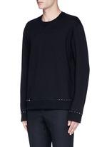 'Rockstud Untitled' cotton blend sweatshirt