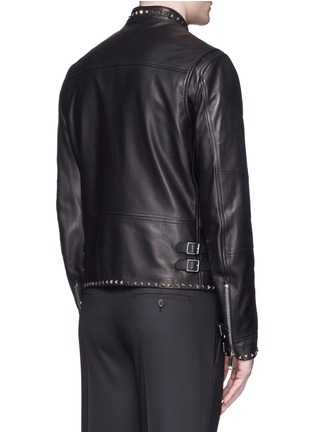 Back View - Click To Enlarge - Valentino - 'Rockstud Untitled 04' leather jacket