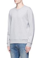 'Rockstud Untitled 08' cotton blend sweatshirt