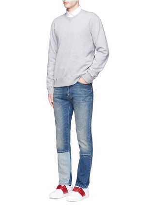 Figure View - Click To Enlarge - Valentino - 'Rockstud Untitled 08' cotton blend sweatshirt