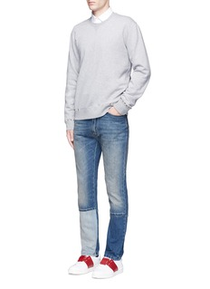 Valentino 'Rockstud Untitled 08' cotton blend sweatshirt