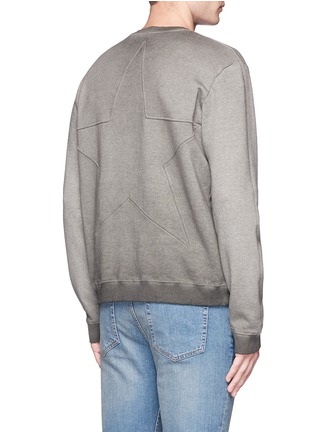 Back View - Click To Enlarge - Valentino - Star embossed sweatshirt