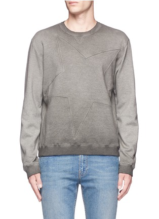 Main View - Click To Enlarge - Valentino - Star embossed sweatshirt