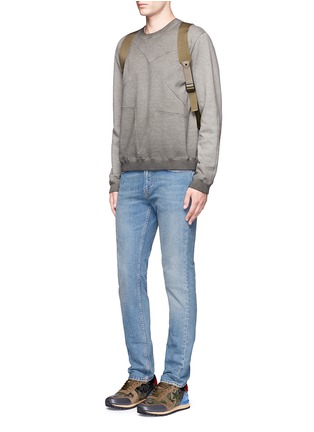 Figure View - Click To Enlarge - Valentino - Star embossed sweatshirt