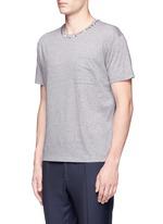 'Rockstud Untitled' mélange jersey T-shirt